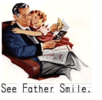 See Father Smile